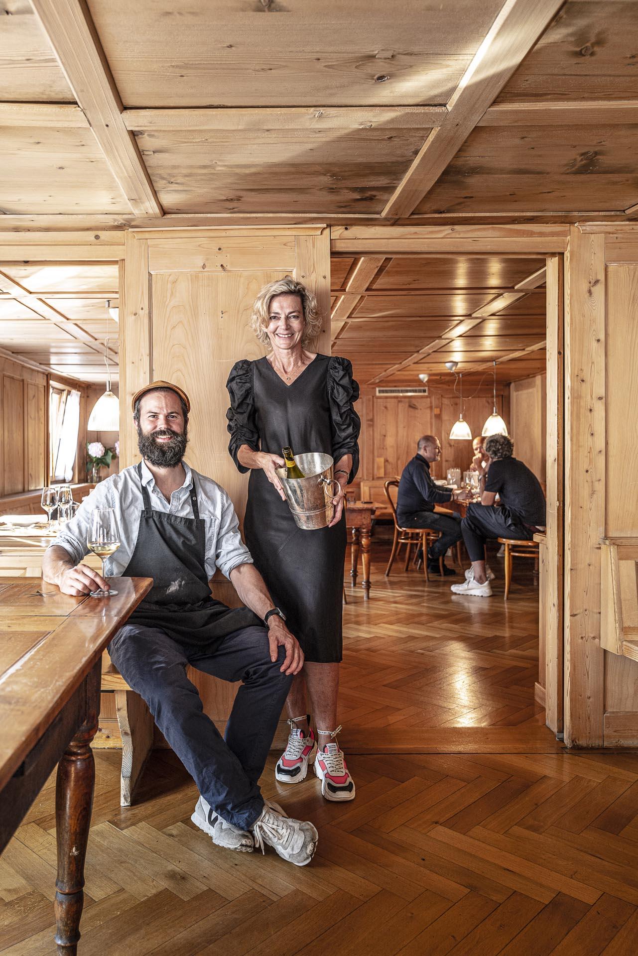 Irma Renner und Jodok Dietrich vom Adler Grossdorf
